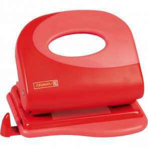 Brunnen Locher Soft-Touch Colour Code red