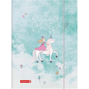 Brunnen Sammelmappe Karton A3 Unicorn Princess