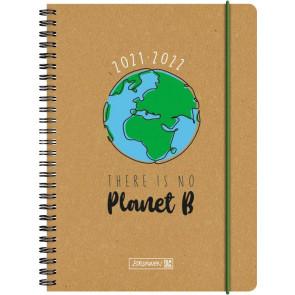 Brunnen Schülerkalender Wochenkalender 20212022 A5 NoPlanetB von vorne