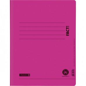 Brunnen Schnellhefter FACT! Pappe Recycling pink DIN A4