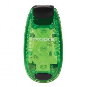 Coocazoo LED-Sicherheits Klemmleuchte Grün