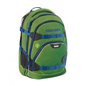 """Coocazoo Schulrucksack """"ScaleRale"""" FreakaSneaka Chameleon Green"""