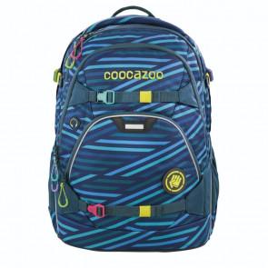 "Coocazoo Schulrucksack ""ScaleRale"" Zebra Stripe Blue"