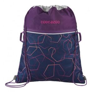 """Coocazoo Sportbeutel """"RocketPocket2"""" Laserbeam Plum"""