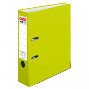Herlitz maX.file protect Ordner neongrün DIN A4 8cm