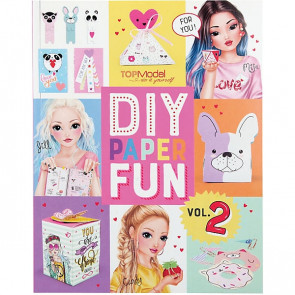 TOPModel DIY Paper Fun Book Vol.2 || Depesche 10956