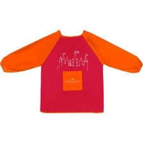 Faber Castell Malkittel rot/orange Universalgröße