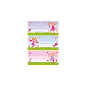 Herma Heftschild-Etiketten Prinzessin