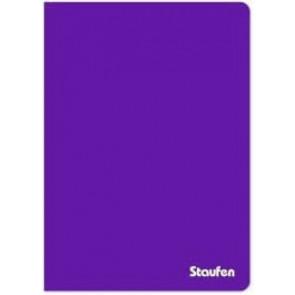 Staufen Ringbuch PP A4 94765 2Ring 17mm Opak violett