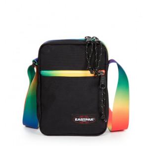 EASTPAK Schultertasche THE ONE Rainbow Dark