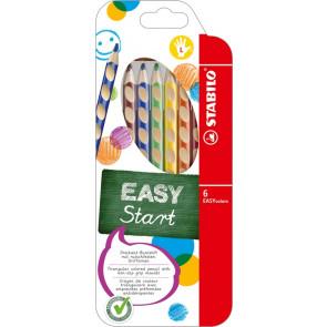 Stabilo Farbstift Easycolors 6er- Et für Linkshänder 3316