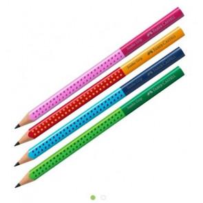 Faber Castell Bleistift Jumbo-Grip HB f.Schreibanfänger bunt