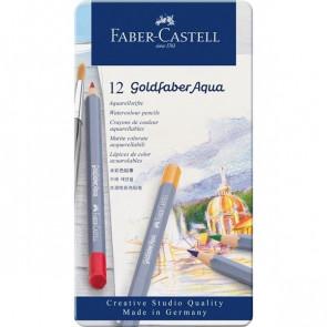 Faber Castell Aquarell-Farbstifte Goldfaber 12er Set