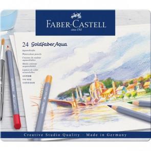 Faber Castell Aquarell-Farbstifte Goldfaber 24er Set