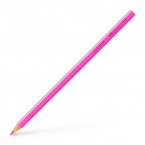 FABER-CASTELL Dreikant-Buntstift Colour GRIP in neonpink