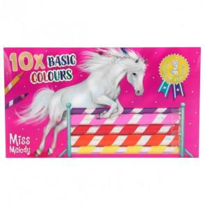 Miss Melody Buntstifteset 10 Grundfarben