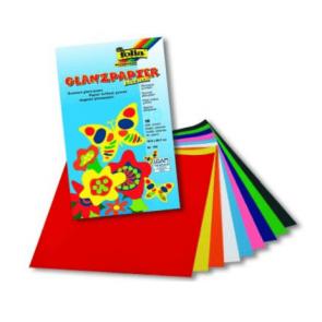 Folia 750 Glanzpapier gummiert 80g 18,5 x 29,7cm