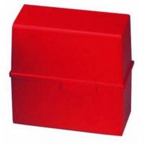 Han Karteikartenbox DiN A7 quer ungefüllt rot 977-17