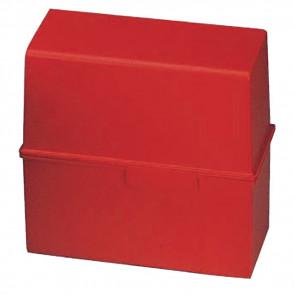 Han Karteikartenbox DIN A6 quer ungefüllt rot 976-17