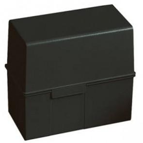 Han Karteikartenbox DIN A6 quer ungefüllt schwarz 976-13