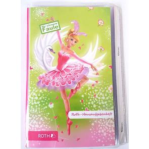 """Roth Hausaufgabenheft Teens """"Für clevere Faule"""" – Ballerina"""