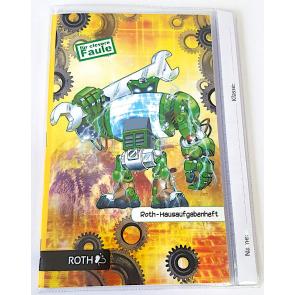 """Roth Hausaufgabenheft Teens """"Für clevere Faule"""" – Roboter"""