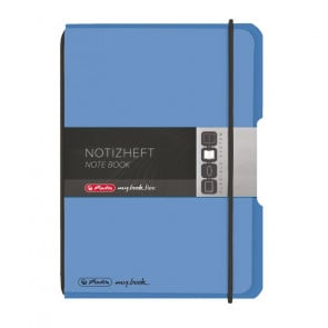 Herlitz my.book flex - Blau Notizheft kariert A6 40 Blatt