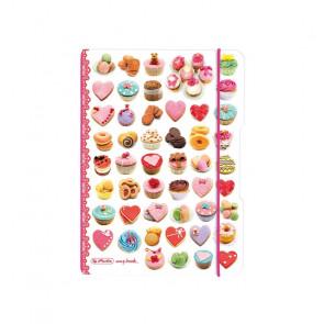 Herlitz my.book flex - Rezepte Cupcakes Notizheft kariert A5 40 Blatt
