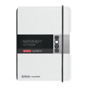 Herlitz my.book flex - Transparent Notizheft kariert A6 40 Blatt