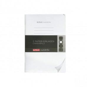 Herlitz my.book flex Refill punktiert A5 2x 40 Blatt Nachfüllsatz