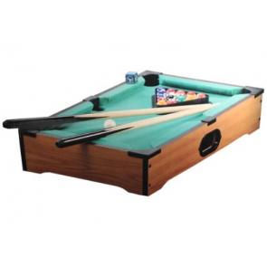 Holz Tischbillard Pool Table 52 x 33 cm