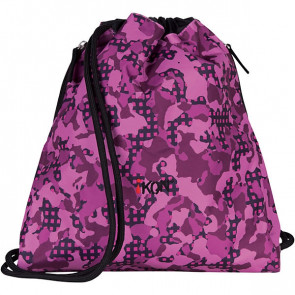 iKon Sportbeutel Purple Carmouflage