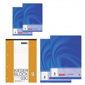 3. Klasse Spar-Paket Hefte und Block von Schulsachen.de