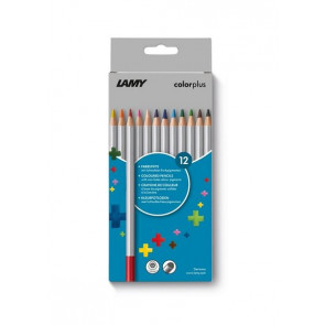 LAMY colorplus 12er-Set-Faltschachtel Farbstifte
