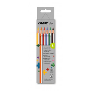 LAMY plus 6er-Set-Faltschachtel Farbstifte