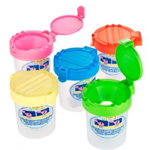 Läufer Pinselbecher Wasserbecher in verschiedenen Farben