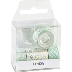 "Heyda Deko Tapes Mini ""Pastell"" jede Rolle 3 m x 12 mm mint"