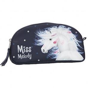 Miss Melody Kosmetiktasche Blau || Depesche 10595