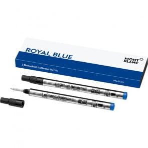 "MONTBLANC Rollerball LeGrand M 2 Minen ""Royal Blue"""