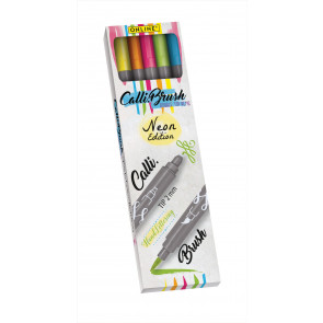 ONLINE Calli & Brush Double Tip Pen Neon Edition