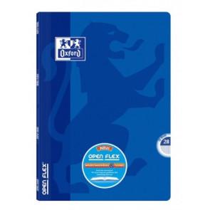 OXFORD Schulheft Openflex® DIN A4 Lineatur 28 blau