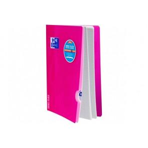 OXFORD Schulheft Openflex ® DIN A4 Lin. 28 kariert rosa
