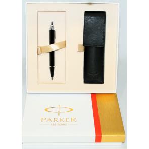 PARKER Tintenroller Ball Pen- Geschenkset Limited Edition 125 Jahre Parker Kugelschreiber
