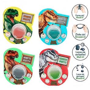 Dino World Spring-Knete mit Glitzer in verschiedenen Farben | Depesche 10621