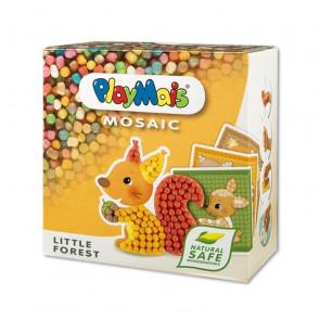 PlayMais® MOSAIC Little Forest Bauspielzeug Set Wald Tiere