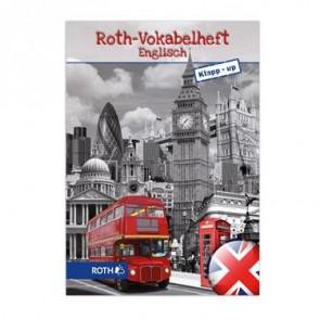 Roth Vokabelheft Englisch, Klapp-up, A5 2 Spalten schwarz/weiss