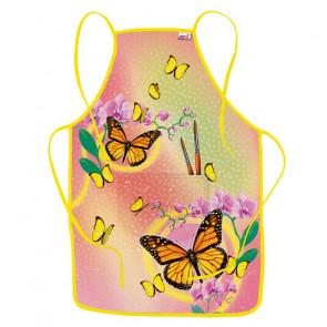 Roth Kinderschürze Motiv Schmetterling zum Malen und Basteln