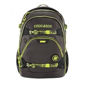 "Coocazoo  Rucksack ""ScaleRale"" inkl. Hüftgurt mit Power Pack, TecCheck Neon Yellow"