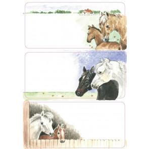 Herma Heftschild-Etiketten Pferde