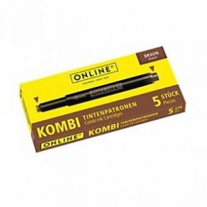 Online Tintenpatrone Kombi sortiert 5 Stück braun